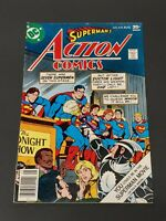 "1977 DC Comics, #474 Aug., ""Superman Action Comics"""