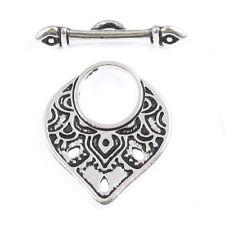 10 x Tibetan Silver Nautical Toggle and Bar Sets