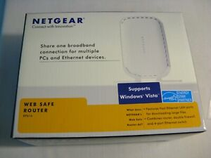 Never Used Netgear RP614 100 Mbps 4-Port 10/100 Wired Router