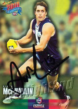 ✺Signed✺ 2010 FREMANTLE DOCKERS AFL Card LUKE MCPHARLIN