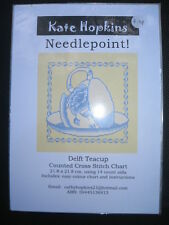 Counted Cross Stitch Chart Australian Design Delft Teacup BNIP Fast Postage