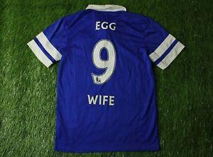 EVERTON # 9 EGG WIFE 2013/2014 FOOTBALL SHIRT JERSEY HOME NIKE ORIGINAL SIZE S
