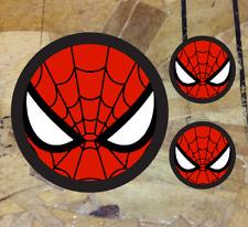 10 small SPIDERMAN VINYL stickers