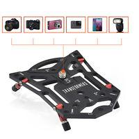 Camera Bracket Stable Flat Tripod Base for Gopro Camera Phone SLR Photography