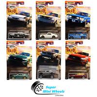 2020 Matchbox Ford Mustang Set 6 Pcs - #1-#6