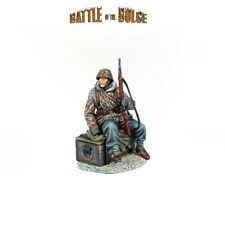 First Legion: BB029 German Waffen SS Panzer Grenadier Seated on Crate with K98