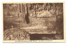 grottes d'arcy-sur-cure  le vallot et la draperie