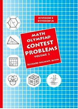 Math Olympiad Contest Problems for Elementary & Middle School Volume 2 NEW
