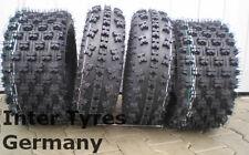 2x 23x7-10 P348 + 22x10-10 P357 HAKUBA Satz ATV Quad Geländereifen 22x10.00-10
