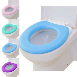 1set Toilet Seat Cushion Pad Waterproof Self-adhesive Closestool Seat Mat Cover
