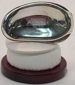 """Tiffany & Co Elsa Peretti Bean Money Clip .925 Sterling Silver 1.75"""""""