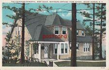 THE TIEDEMANN MEMORIAL BABY HOUSE, Wartburg Orphan's Farm School Mount Vernon NY