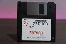 Ensoniq ZR Series ZRD-100 In Box Sound & Rhythm Factory Disk - ZR76 ZR-76 ZRD100