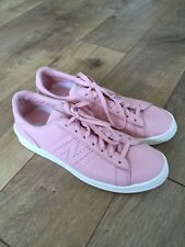New Balance for J.Crew 791 Leather Court Women Shoes Sneakers 8.5 PINK G8303