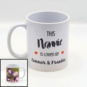 Personalised Photo Mug  Mummy, Daddy, Grandma, Grandad, Fathers Day Gift