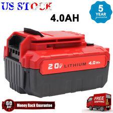 20volt For PORTER CABLE PCC685L PCC680L 20V MAX Lithium Ion 4.0-Amp Hour Battery