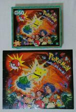 1999 Milton Bradley Nintendo Pokemon Bulbasaur Pikachu 60 Piece Puzzle COMPLETE!