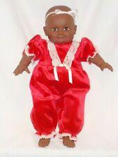 """20"""" Vinyl Black Baby Doll"""