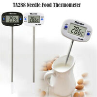 Electronic Food Needle Kitchen Thermometer Water Coffee Milk Oil Thermometer
