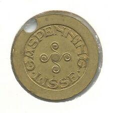 Gaspenning Lisse GA139.2 afbeelding stadswapen Rijksmunt 1922