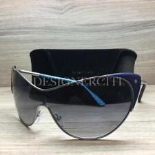 Tom Ford Vanda TF364 364 Sunglasses Ruthenium Blue 89W Authentic