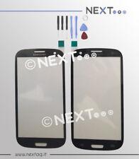 Samsung Galaxy S3 - S3 NEO i9300-i9301i grigio VETRO BIADESIVO + kit