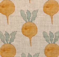 Radish Moon Textiles Radish Amber Linen Remnant New