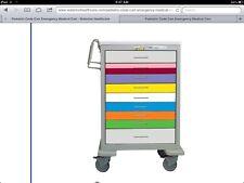Pediatric Emergency Cart-Steel