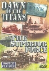 "World War 2 WW2 DVD Documentary "" GREAT TANK BATTLES of WWII "" Volume 1 & 2"