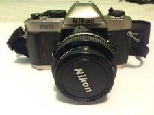 Nikon FM10 Film Camera with Nikkor 50mm F 1.4 Lens