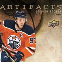2019-20 Artifacts YEAR ONE Jersey Cards (All Versions) NHL Hockey Pick From List