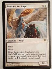 4x Restoration Angel MTG Avacyn Restored (Minor if any play)