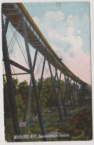 USA postcard - White Mountains, N.H, Frankenstein Trestle - P/U (A132)