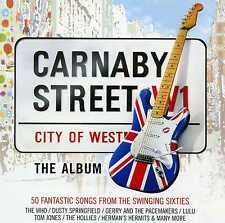 CARNABY STREET - 60S WHO SEARCHERS CILLA HOLLIES MANFRED MANN - 2 CDS - NEW!!