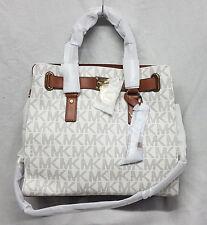Michael Kors Bag 30T2GHMT3B Hamilton Large NS Tote Vanilla