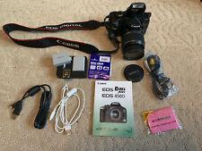 Canon Eos Rebel Xsi / 450D 12.2Mp Digital Slr Camera w. Efs 18-55mm Lens, Filter