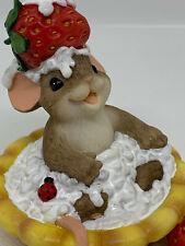 "Dean Griff Charming Tails Enesco Retro ""You're A Sweetie Pie"" Mouse"