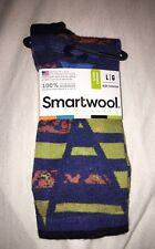 Smartwool Mens Curated Mirrored Print Crew Socks Sz L