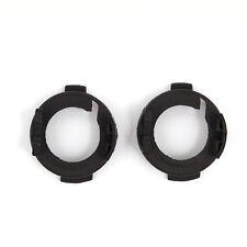 2pcs Sliver H7 HID Bulb Socket Holder Adapter Base Retainer Clips for Audi A6