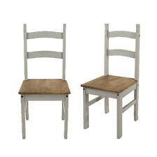 Premium Corona Solid Pine Living, Dining & Occasional Grey Wash Furniture Range