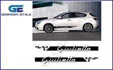 1 Paar ALFA ROMEO GIULIETTA - Auto Seiten Aufkleber - Sticker - Decal - Car !<>!