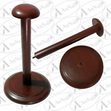 Medieval Armour Helmet Attractive Wooden Display Stand Antique Finish Replica