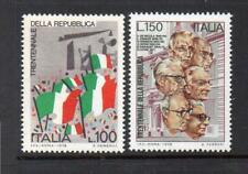 ITALY MNH 1976 SG1478-1479 30TH ANV OF REPUBLIC
