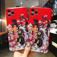 Anime Cartoons ONE PIECE Monkey D. Luffy Phone Case For iPhone 11 Pro Max 7P/8P