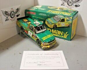 2005 Kevin Harvick Yardman Color Chrome Truck 1/24 Action Diecast Autographed