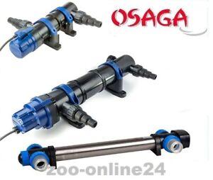OSAGA UV-C Teichklärer 7, 11, 18, 36, 55, 75 Watt, UVC Gerät, Algenvernichter