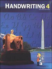 BJU Press - Handwriting 4 Stud Worktext (2nd ed.) (Copyright Update) 268599