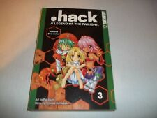 >Hack #3 Legend Of The Twilight by Rei Izumi, Tatsuya Hamazaki SC new Manga