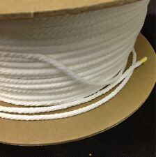 20 Yds 5/32 Polyester Welt Cord Piping Sewing Craft Home Decor White Trim