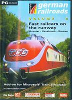 German Railroads Vol.2,  Munster-Osnabruck-Bremen, Train Simulator-Add-on, neu